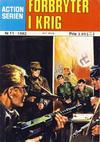 Cover for Action Serien (Atlantic Forlag, 1976 series) #11/1982