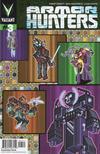 Cover Thumbnail for Armor Hunters (2014 series) #3 [Cover B - #Valiantcraft - Donovan Santiago]