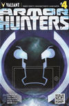 Cover Thumbnail for Armor Hunters (2014 series) #4 [Cover B - QR Voice - Tom Fowler]