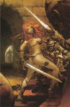 Cover Thumbnail for Red Sonja (2005 series) #11 [Pat Lee Retailer Incentive Virgin Cover (1 in 15)]