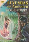 Cover for Leyendas de América (Editorial Novaro, 1956 series) #146