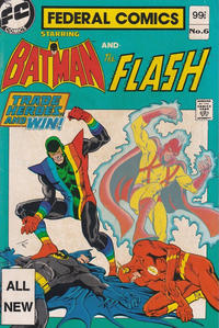 Cover Thumbnail for Federal Comics Starring Batman and... (Federal, 1983 series) #6