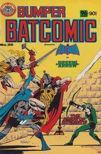 Cover Thumbnail for Bumper Batcomic (K. G. Murray, 1976 series) #20