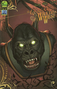 Cover for Legend of Oz: The Wicked West (Big Dog Ink, 2012 series) #12 [Cover A - Alisson Borges]