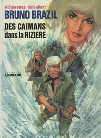 Cover Thumbnail for Bruno Brazil (Le Lombard, 1971 series) #7 - Des caïmans dans la rizière