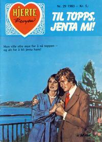 Cover Thumbnail for Hjerterevyen (Serieforlaget / Se-Bladene / Stabenfeldt, 1960 series) #29/1983
