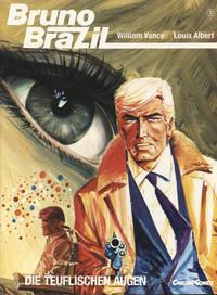 Cover Thumbnail for Bruno Brazil (Carlsen Comics [DE], 1987 series) #3 - Die teuflischen Augen