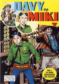 Cover Thumbnail for Davy og Miki (Hjemmet / Egmont, 2014 series) #2