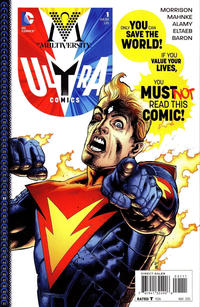 Cover Thumbnail for The Multiversity: Ultra Comics (DC, 2015 series) #1