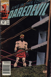 Cover Thumbnail for Daredevil (Marvel, 1964 series) #287 [Newsstand]