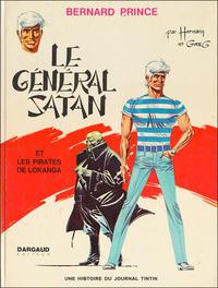 Cover Thumbnail for Bernard Prince (Le Lombard, 1969 series) #1 - Le général Satan