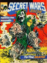 Cover Thumbnail for Secret Wars (Marvel UK, 1985 series) #22