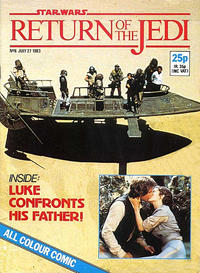 Cover Thumbnail for Return of the Jedi Weekly (Marvel UK, 1983 series) #6