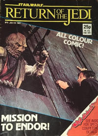 Cover Thumbnail for Return of the Jedi Weekly (Marvel UK, 1983 series) #5