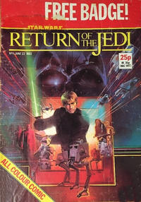 Cover Thumbnail for Return of the Jedi Weekly (Marvel UK, 1983 series) #1
