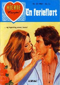 Cover Thumbnail for Hjerterevyen (Serieforlaget / Se-Bladene / Stabenfeldt, 1960 series) #25/1983