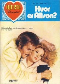 Cover Thumbnail for Hjerterevyen (Serieforlaget / Se-Bladene / Stabenfeldt, 1960 series) #23/1983