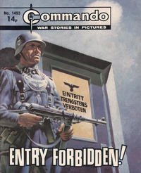 Cover Thumbnail for Commando (D.C. Thomson, 1961 series) #1493