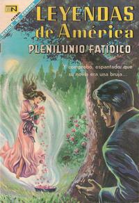 Cover Thumbnail for Leyendas de América (Editorial Novaro, 1956 series) #146