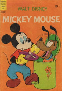 Cover Thumbnail for Walt Disney's Mickey Mouse (W. G. Publications; Wogan Publications, 1956 series) #197
