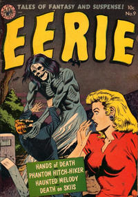 Cover Thumbnail for Eerie (Superior Publishers Limited, 1953 ? series) #9