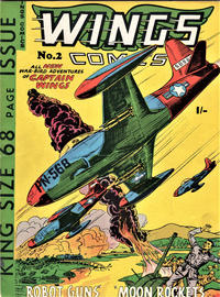 Cover Thumbnail for Wings Comics (Trent, 1960 ? series) #2