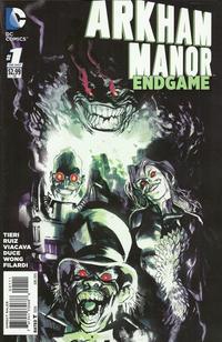 Cover Thumbnail for Arkham Manor: Endgame (DC, 2015 series) #1
