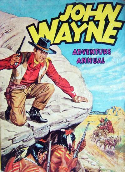 Cover for John Wayne Adventure Annual (World Distributors, 1953 series) #1953