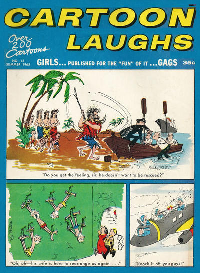Cover for Cartoon Laughs (Marvel, 1963 series) #12