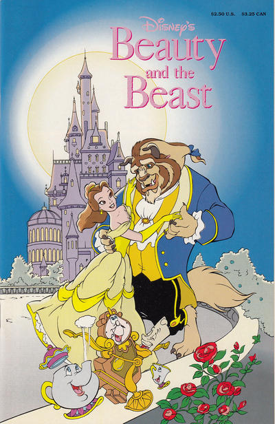 Cover for Disney's Beauty and the Beast (Disney, 1991 series)  [Squarebound]