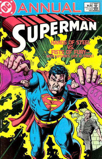 Cover for Superman Annual (DC, 1960 series) #12 [Direct Sales Variant]