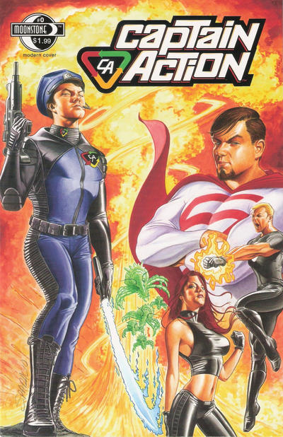 Cover for Captain Action Comics (Moonstone, 2008 series) #0