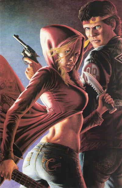 Cover for Buckaroo Banzai Hardest of the Hard (Moonstone, 2010 series) #1 [Cover A]