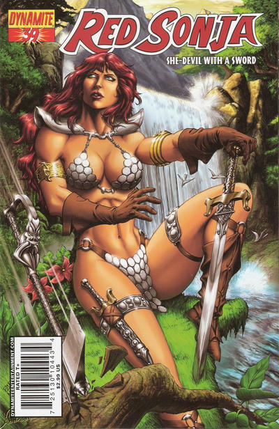 Cover for Red Sonja (Dynamite Entertainment, 2005 series) #39 [Cover A]