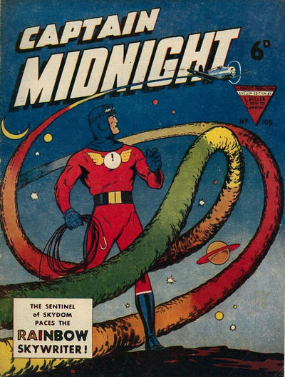 Cover for Captain Midnight (L. Miller & Son, 1950 series) #105