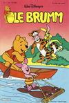 Cover for Ole Brumm (Hjemmet, 1981 series) #5/1982