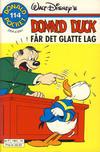 Cover Thumbnail for Donald Pocket (1968 series) #114 - Donald Duck får det glatte lag [1. opplag]