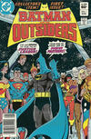 Cover for Batman and the Outsiders (DC, 1983 series) #1 [Newsstand]