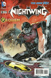 Cover Thumbnail for Nightwing (2011 series) #18 [Second Printing]