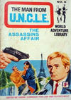 Cover for Man from U.N.C.L.E. World Adventure Library (World Distributors, 1966 series) #8