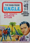 Cover for Man from U.N.C.L.E. World Adventure Library (World Distributors, 1966 series) #7