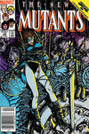 Cover Thumbnail for The New Mutants (1983 series) #36 [Newsstand Edition]