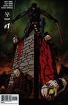 Cover for Ninjak (Valiant Entertainment, 2015 series) #1 [Cover C - Dave Johnson]