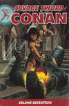 Cover for Savage Sword of Conan (Dark Horse, 2007 series) #17