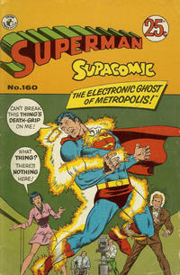 Cover Thumbnail for Superman Supacomic (K. G. Murray, 1959 series) #160
