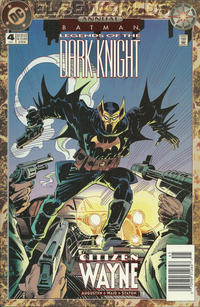 Cover Thumbnail for Batman: Legends of the Dark Knight Annual (DC, 1993 series) #4 [Newsstand]