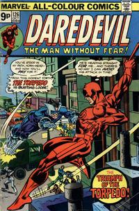 Cover Thumbnail for Daredevil (Marvel, 1964 series) #126 [British]