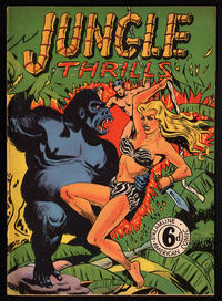 Cover Thumbnail for Jungle Thrills (Streamline, 1952 series)