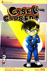 Cover Thumbnail for Case Closed (Viz, 2004 series) #54