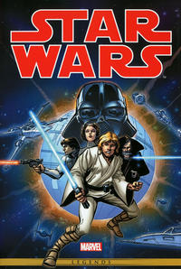 Cover Thumbnail for Star Wars: The Original Marvel Years Omnibus (Marvel, 2015 series) #1 [Howard Chaykin Cover]